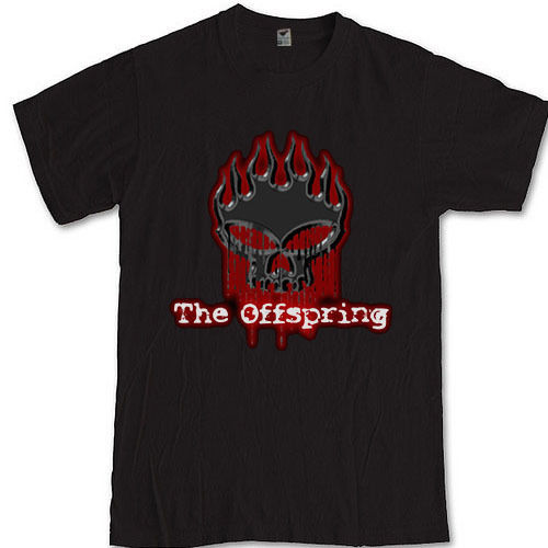 Offspring T-Shirt punk rock grubu Sml XL 2XL 3XL Güve tee Dexter Hollanda